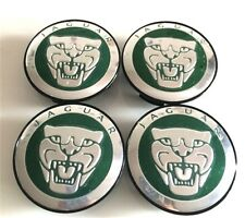 Set of 4 Wheel Center Caps HUB CAP GREEN 59mm For JAGUAR X TYPE XK XF XJ XJ8 XJ6