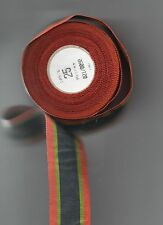 1 X METRE LENGTH OF OLDER WEAVE RIBBON FOR THE KHEDIVES SUDAN MEDAL 1910