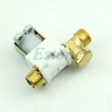 """New 220V AC 1/2"""" Electric Solenoid Valve For Water Air N/C Normally Closed"""