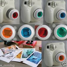 Colorful Filter Close-up Lens for Fujifilm Instax Mini 8 7s 7 Camera 4Colors/Set
