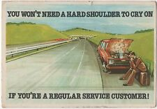 POSTCARD  ADVERT  MOTORING (L/S)  DINSDALE   NORWICH