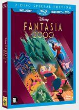 BLU RAY : FANTASIA 2000 - WALT DISNEY 2 DISC SPECIAL EDITION sealed blu ray+DVD