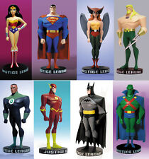 Justice League Mini Maquette Animated 8x Full Set Figures (Sealed Brand New)