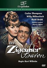 Der Zigeunerbaron (Willy Millowitsch, Heidi Brühl, Carlos Thompson) DVD NEU+OVP!