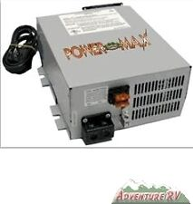Power Max RV Converter Battery Charger PM3-55 AMP 120 V AC to 12 volt DC Supply