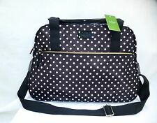 NWT Kate Spade Spot Nylon Milla Tote Duffel Carry on Travel Bag $458