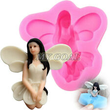 3D Fairy Angel Elf Silicone Fondant Mold Cake Chocolate Icing Sugarcraft Mould