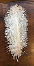 """Antique Plume Millinery Feather Flapper Trims Hats French Dolls 13"""""""