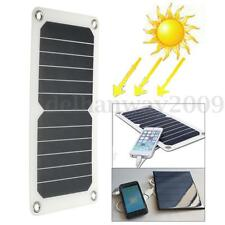 Portable 6.5W 5V Semi-Flexible Mono Solar Panel USB Charger For Outdoor Camping