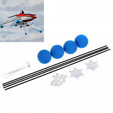 Landing Training Kit Gear for Blade 400 Trex 450 500 RC Helicopter Sponge Balls