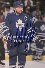 "Autographed Wendel Clark Toronto Maple Leafs Photo 4"" x 6"""