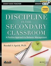 Discipline in the Secondary Classroom, with DVD: A Positive Approach to Behavior