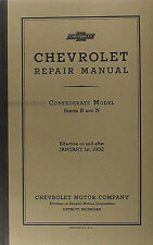 Best Shop Manual for 1932 Chevrolet Car and Truck 32 Chevy Repair Service