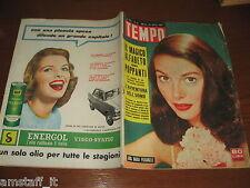 RIVISTA TEMPO 1957/13=ANNA MARIA PIERANGELI=PIO ALBERGO TRIVULZIO=MALAPARTE C.=