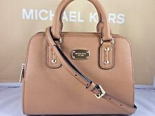 NWT Mother's Day Gift Authentic Michael Kors Acorn Leather Small Satchel Bag