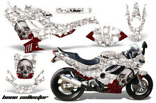 AMR Racing Graphic Kit Wrap Part Suzuki GSXR 600/750F Street Bike 88-97 BONES W