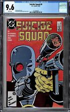 Suicide Squad (1987 1st Series) #6 CGC 9.6 WHITE Pages - Deadshot Cover