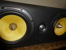B&W Bowers & Wilkens LCR600 S3 Center with updated Clarity Caps & Maze Audio Cbl