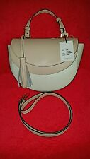 Vittoria Napoli Made In Italy ApriI Tuberos Leather Shoulder Bag Crossbody NWT