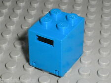 Boite LEGO blue container box 4345a / set 6951 6882 6980 6844 6930 ...