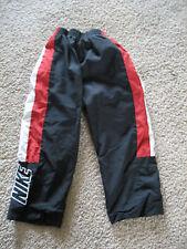 Boys Nike Windbreaker Pants Size 4T Fully Lined Navy