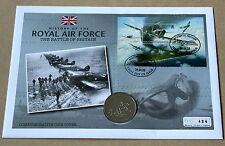 Historia de Royal Air Force de la batalla de Gran Bretaña 2008 Cubierta + Guernsey £ 5 moneda