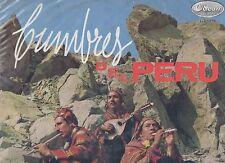 CUMBRES DEL PERU disco LP 33 Cumbia SALSA Latin  MADE in PERU  STAMPA PERUVIANA