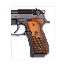 Beretta USA - WOOD PISTOL GRIP PACKAGE MODEL 92 / 96 -  OVAL CHECKERED