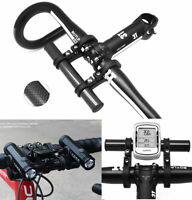 Bike handlebar carbon extender handle bar mount stand holder phone GPS lights