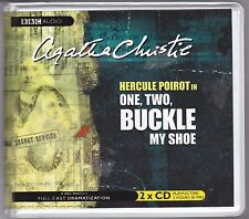 One, Two, Buckle My Shoe by Agatha Christie (2004, CD, Unabridged) Full-Cast BBC
