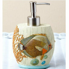 Tropical Fish Bathroom Decorating Ideas For Beach Kitchen Hand Soap Dispenser