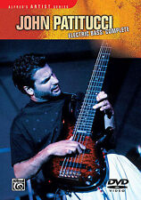 JOHN PATITUCCI ELECTRIC BASS GUITAR COMPLETE NEW DVD