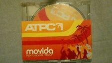 ATPC - MOVIDA FEAT. BORIS. PROMO CD SINGOLO 3 TRACKS