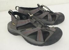 KEEN Gray Waterpoof Amphibious Sport Sandals US Men's Size 8 EU 40.5 GREAT LOOK