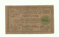 Philippines Emergency Currency Negros - 10 Pesos - Low Serial - # 222123
