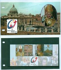 Isle Of Man World Youth Day Cologne 2005 Presentation Pack Pope John Paul II MNH
