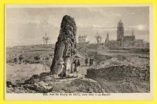 cpa Gravure Ancienne 44 - Vue du Bourg de BATZ sur MER vers 1840 MENHIR MOULINS