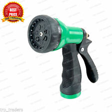 New Heavy Duty Metal Watering Spray Water Gun Lockable Fits any Hose Pipe