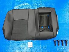 2016 DODGE RAM SPORT RIGHT REAR SEAT COVER BACKREST CLOTH + VINYL BLACK