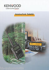 Prospekt Katalog Kenwood Amateurfunk Zubehör catalog accessories 2005