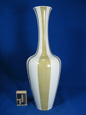 Well shaped 60´s design Heinrich & Co porcelain vase Porzellan Vase 1672  32,5cm