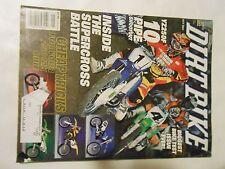 MAY 2001 DIRT BIKE MAGAZINE,YAMAHA YZ250 10 PIPE SHOOTOUT,SUZUKI DRZ250,GOOGLES