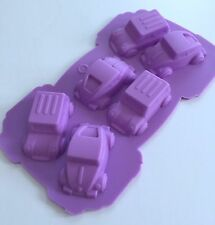 Mini Car Truck silicone mold Chocolate Cake Candy Cupcake Baking Tools Supplies