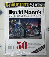 DAVID MANN COLLECTION 50 Masterpieces MOTORCYCLE ART From EASYRIDERS No 3 FREE 4