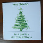 PERSONALISED any colour CHRISTMAS CARD neighbours friends teacher etc
