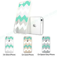 ESR Clear Mint green Hybrid Shockproof Hard TPUBack Case for iPhone 6 plus