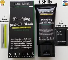SHILLS Deep Cleansing Black MASK purifying peel-off facial acne Blackhead Kit!
