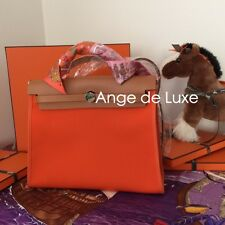 HERMES HERBAG BAG Oragne PM