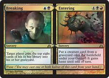 FOIL PROMO LAUNCH Spezzare / Irrompere - Breaking / Entering MTG MAGIC Ita