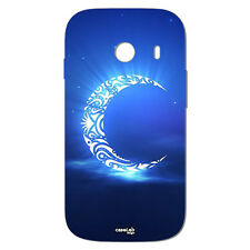 CUSTODIA COVER CASE LUNA TRIBALE LUMINOSA PER SAMSUNG SM G310 GALAXY ACE STYLE